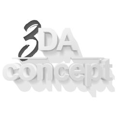 Création logo : 3da concept